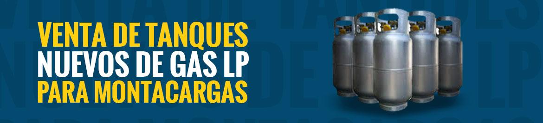Venta de tanques nuevos de gas LP para montacargas