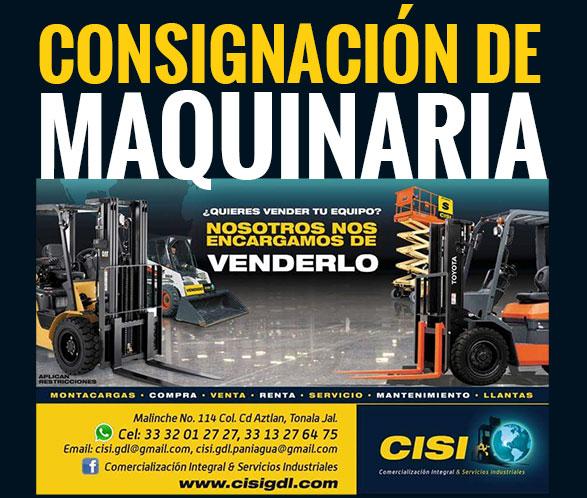 Configuración de maquinaria